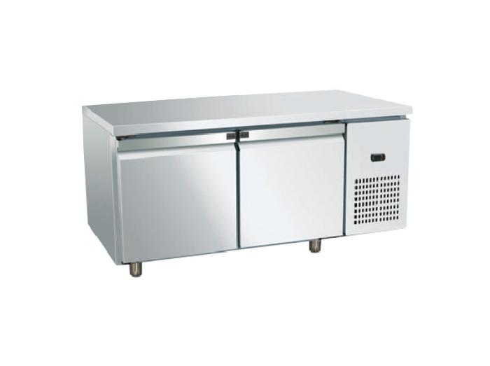 双门冷藏/冷冻工作台