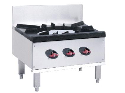石家庄厨房设备单眼燃气矮汤炉